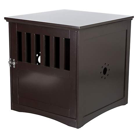 "Trixie Wooden Pet House Brown Kennel, 20"" L x 20"" W x 19"" H"