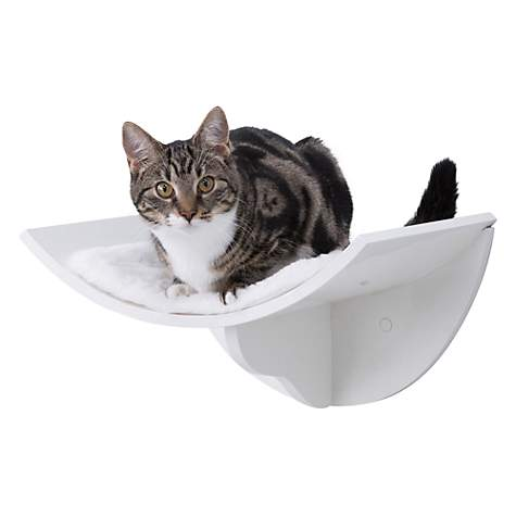 Trixie Wall Mounted Cat Bed White Furniture