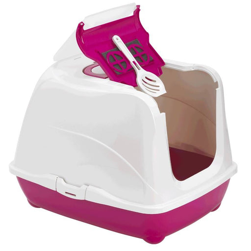 NEW - Jumbo Flip Cat Litter Box