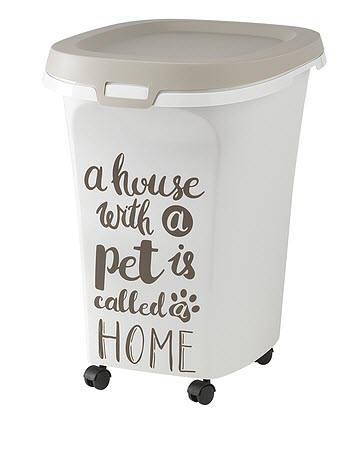 10 gallon Pet Food Storage Bin on Wheels