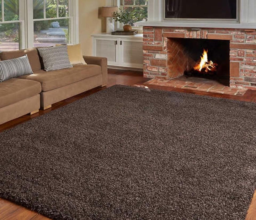 Large 7x10 Super Plush Shag Area Rug by Thomasville $225