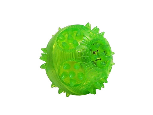 "Gnawsome Chatter Ball for Dogs, Small 2.5"", Colors will vary"