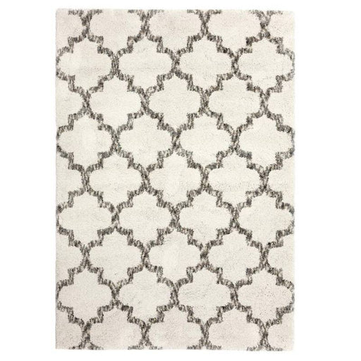 5 ft. x 7 ft. Corsica White Area Rug