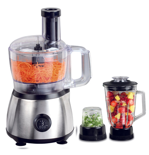 Classic Series Food Processor Plus Precise Blend 16-Speed Blender Plus Food Chopper…