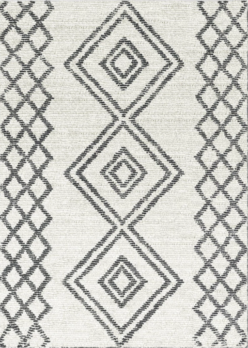 Size 5'X7' Color Off-White Hand Tufted Tribal Rug - Project 62™