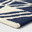 Size 9'X12' Color Navy Microplush Geo Knitted Area Rug - Project 62™