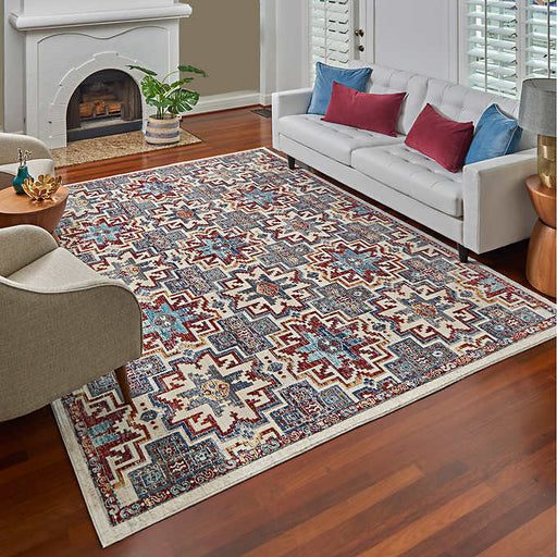 5 ft. 3 in. x 7 ft. 5 in. Gertmenian Regio Collection Cairns Indoor Area Rug