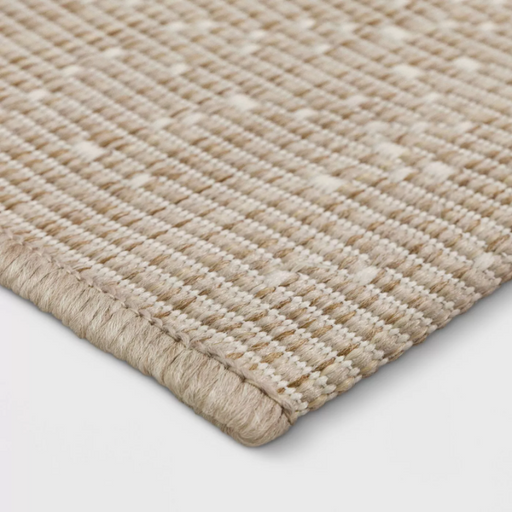 Size 7'x10' Color Tan Ombre Pixel Outdoor Rug - Project 62™