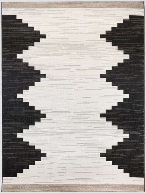 "Size 7'10""x10' Color Neutral Mod Desert Outdoor Rug - Project 62™"