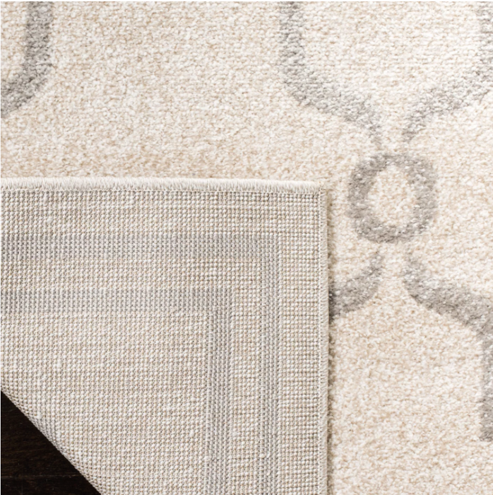 8x10 Color Ivory/Light Gray Prato Indoor/Outdoor Rug - Safavieh