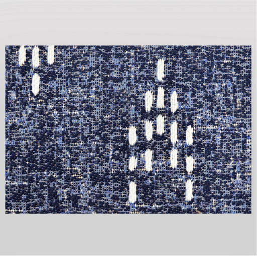 Size 5'x7' Color Navy Blue Staccato Outdoor Rug - Threshold™