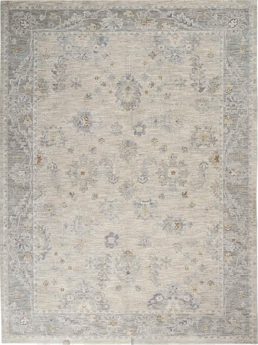 "Size 7'.83"" X 10'33"" Color Light  Grey Area Rug"