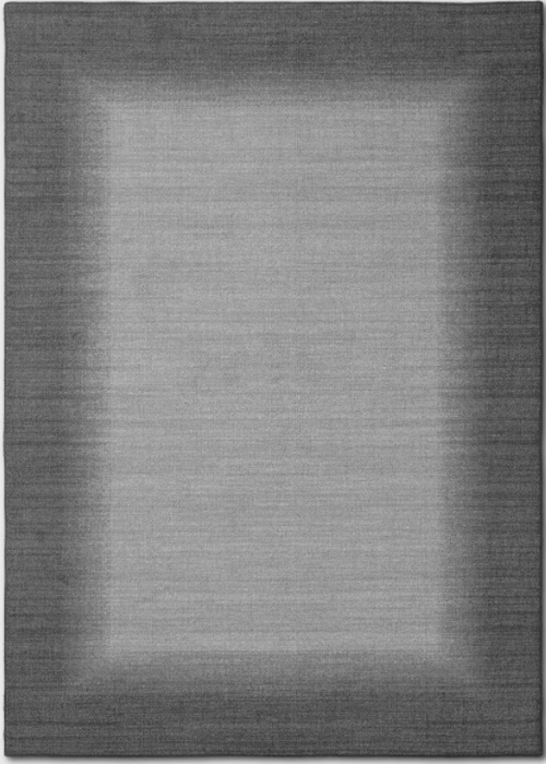Size 5'X7' Color Gray Good Fashion Border Rug - Room Essentials™