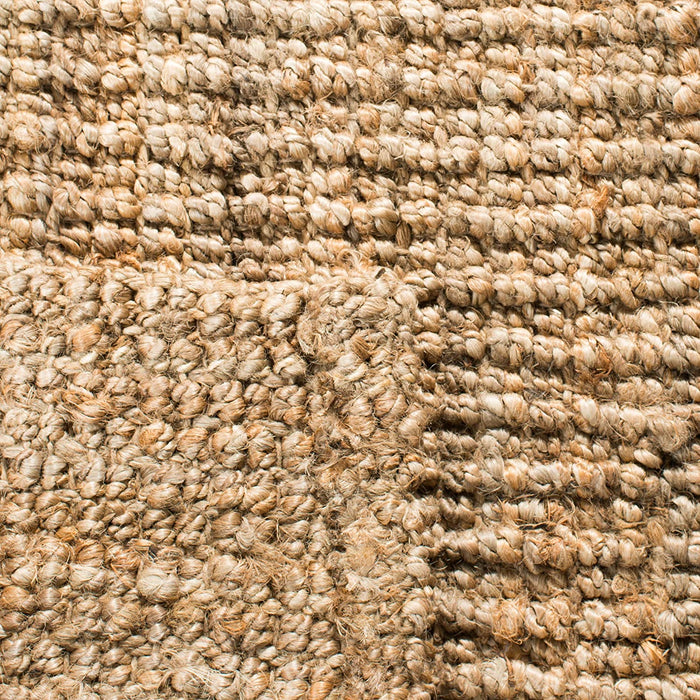 Size :6' x 9' Color: Natural Design:Solid Safavieh Natural Fiber Collection Hand-Woven 0.5-inch Thick Chunky Textured Jute Area Rug