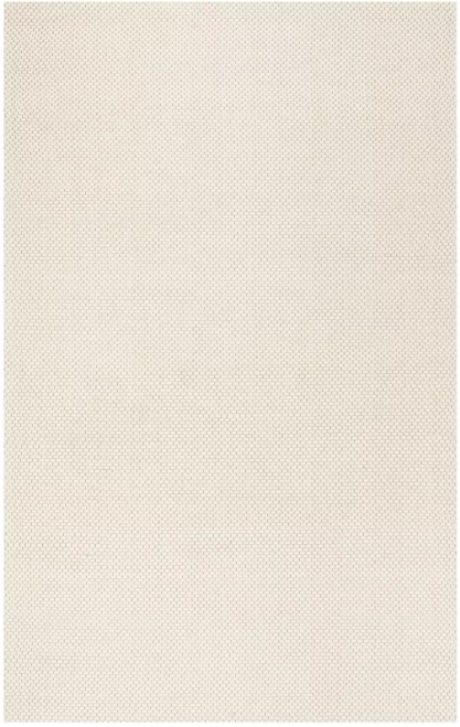 Size 8'X10' Color Ivory Allyson Solid Accent Rug - Safavieh