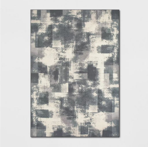 Size 9'X12' Tufted Splatter Area Rug Gray - Project 62™