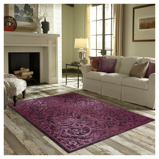 7X10 Geometric Lanette Pressed/Molded Rug - Our Price $70 (Currently Selling Online for $99) - YOU SAVE $30!