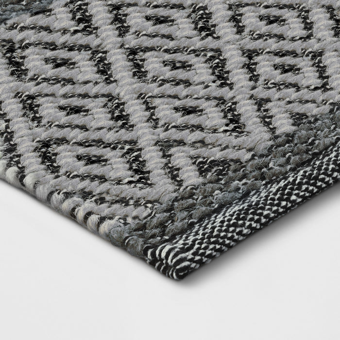 7x10 Tan/Gray Chevron Woven Area Rug - Our Price $125 (Currently Selling Online for $199) - YOU SAVE $74!