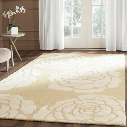 5'X8' Color Light Gold/Ivory Connor Safavieh Rug - Our Price $165 (Currently Selling Online for $279) - YOU SAVE $115!