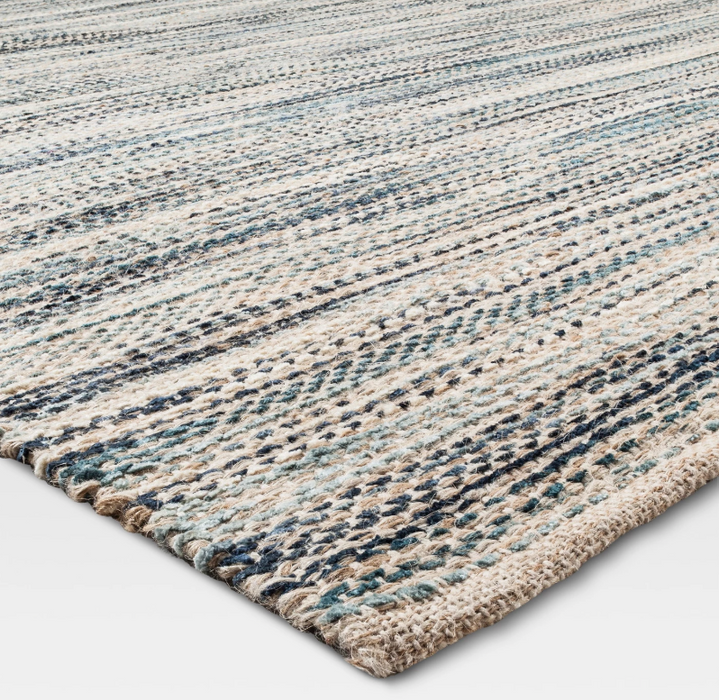 Size 7'x10' Color Indigo Woven Rug - Our Price $110 (Currently Selling Online for $199) - SAVE $89!