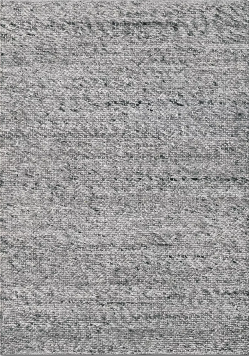 Size 5'x7' Color Gray Chunky Knit Wool Woven Rug - Project 62™