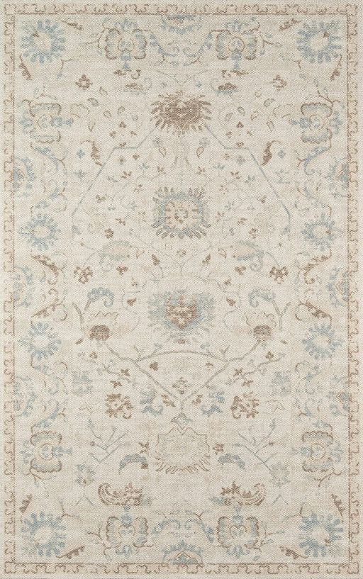 "Momeni Anatolia Wool and Nylon Area Rug 5"" X 8' Beige"