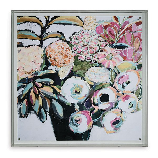 Summer Is Our Colorful Impressionistic Floral Artwork