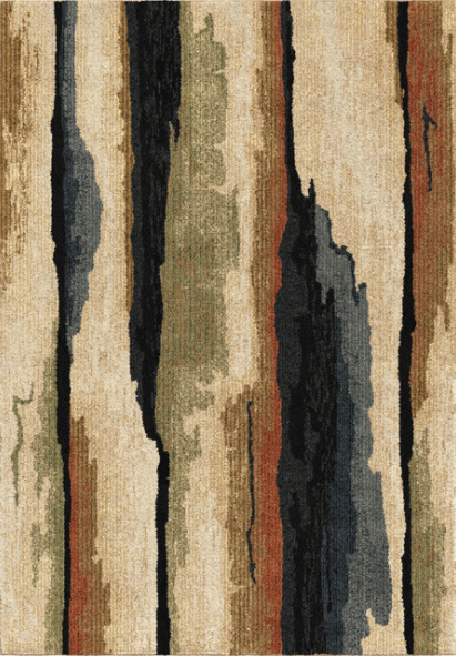 "Palmetto Living by Orian Next Generation Rock Cliff Rug, Beige, 7'10""x10'10"" by Orian"