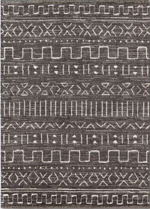 Size 5'x7' Avriel Modern Tribal Rug Gray - Project 62™