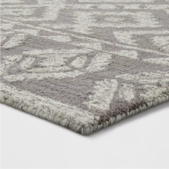 Size 9'X12' Color Neutral Jacamar Geometric Design Tufted Rug - Opalhouse™