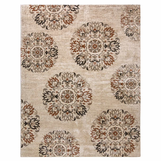 Rug Size : 5 ft. 3 in. x 7 ft. Bari Rug Collection, Chantel Beige
