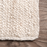 10 ft. x 13 ft. Color/Finish: Off-White Rigo Chunky Loop Jute Off-White Area Rug by nuLOOM