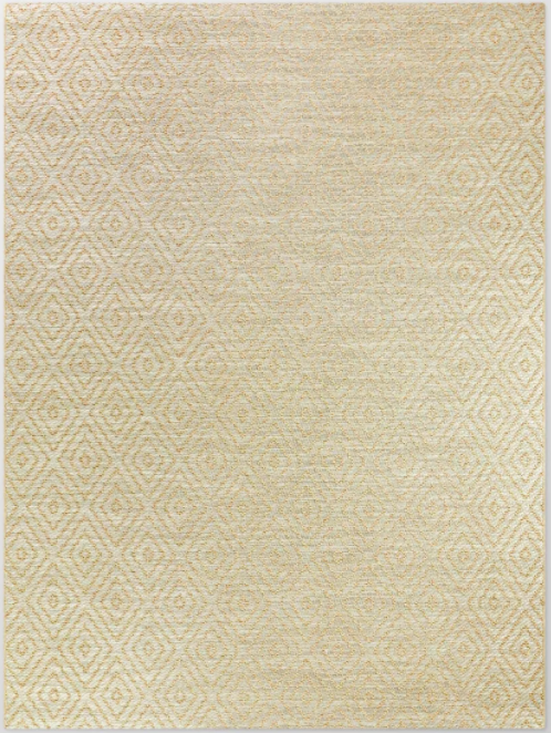 Size 7'x10' Color Tan Prisma Diamond Outdoor Rug - Smith & Hawken™