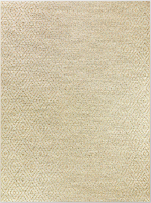 Size 5'x7' Prisma Diamond Outdoor Rug Tan - Smith & Hawken™