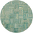 Nantucket Green/Multi 6 ft. x 6 ft. Round Area Rug by Safavieh
