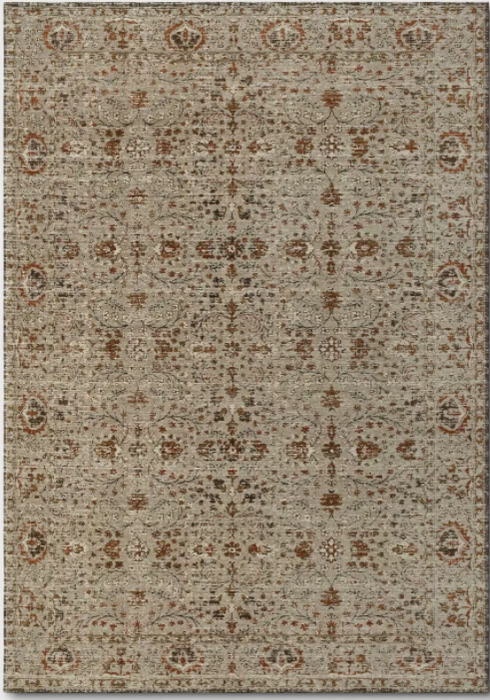 Size 7'x10' Jacquard Chenille Polyester Area Rug Red - Threshold™