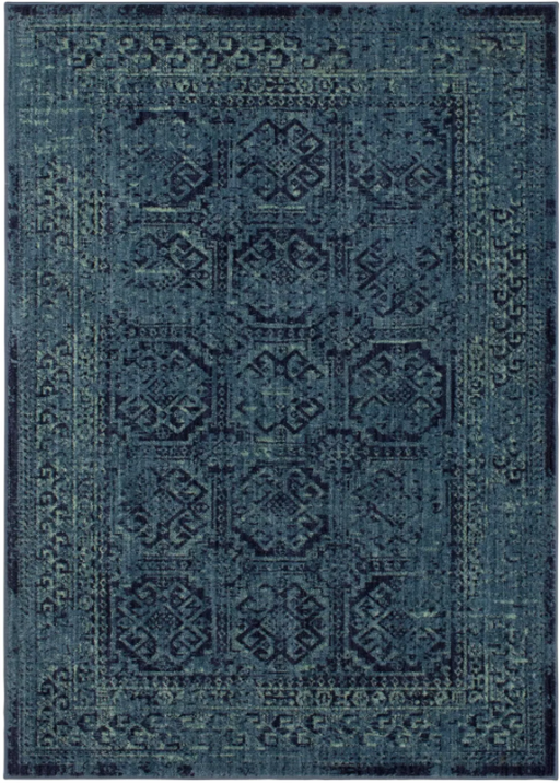 Color Turquoise Size 7'X10' Overdyed Persian Area Rug - Threshold™