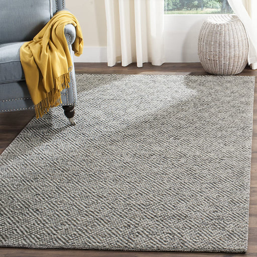 Size 10' x 14 Color Camel/Grey Safavieh Natura Collection Hand-Woven Area Rug