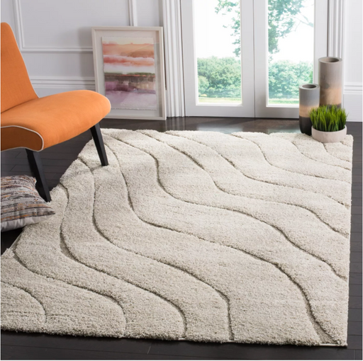 "Size 8'6""X12' Color Cream/Beige Tamar Loomed Rug - Safavieh"