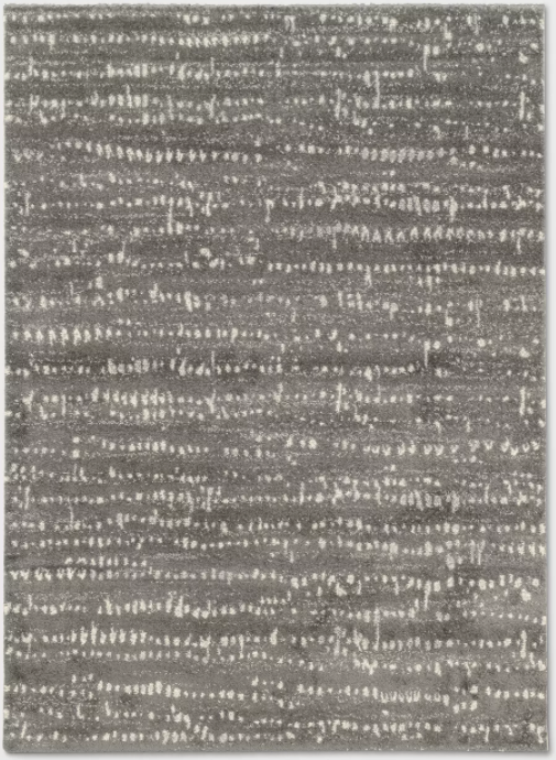 Size 7'X10' Color Charcoal Heather Woven Fleck Area Rug - Project 62™