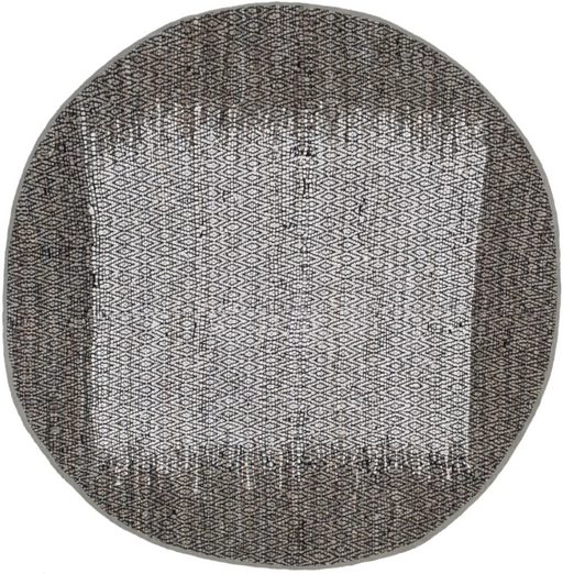 Size 6' ROUND Color Gray Rosita Geometric Light Accent Rug - Safavieh