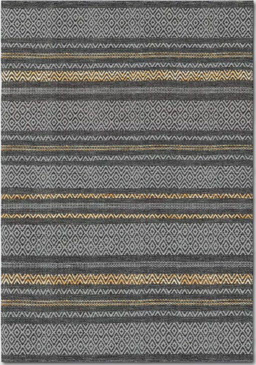 Size 7'X10' Tan/Gray Chevron Woven Area Rug - Project 62™