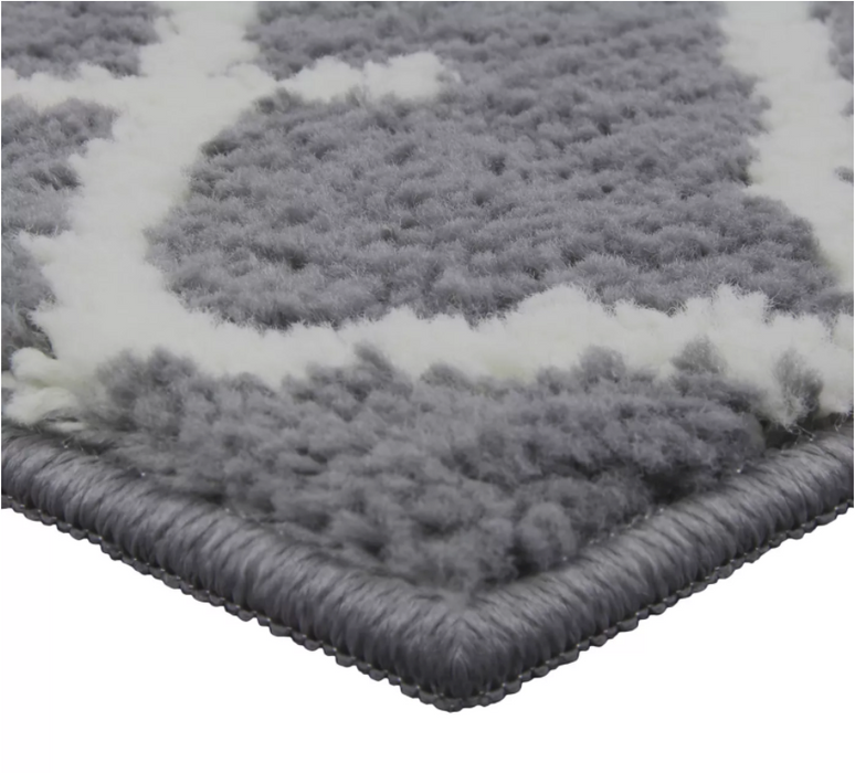 Size 7'X10' Color Gray Bixel Tufted Rug - Project 62™