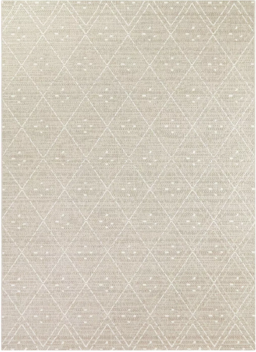 Size 9'x12' Small Diamond Outdoor Rug Taupe - Project 62™