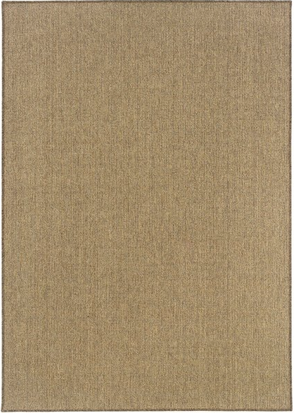 "Size  5'3 "" X  7'6"" Color Tan KARAVIA AREA RUG by Oriental Weavers"