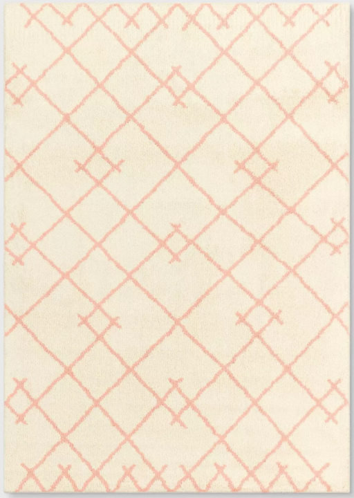 Size 5'x7' Color Blush Pink Bixel Tufted Rug - Project 62™
