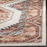 "Size 6'7""X9' Color Ivory/Rust Yara Medallion Area Rug - Safavieh"
