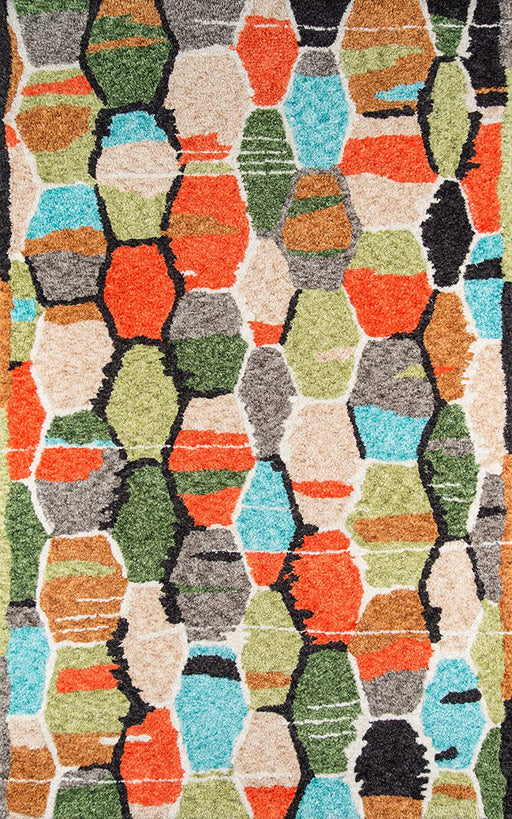 5x8 Multicolor Novogratz Bungalow Collection Tiles Area Rug By Momeni