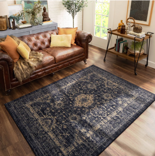 Size 7'X10' Vintage Distressed Rug - Threshold™