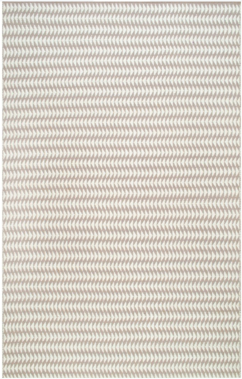 Nuloom Outdoor Striped Yasmin Ivory 4 x 6 Area Rug